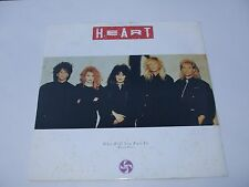 "HEART. WHO WILL YOU RUN TO .12"" 45rpm.VINYL EP Record .Classic Rock."