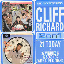 21 Today/32 Minutes And 17 Seconds [Remaster] - Cliff Richard -CD-MINT