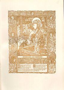 1898 Viktorianisch Studio Aufdruck ~ Design Für Weihnachten Carol Von J.A Duncan