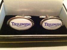 TRIUMPH Gemelli Argento in scatola da collezione Nuovo con Scatola