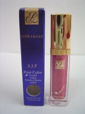 NIB Estee Lauder Pure Color Crystal Lip Gloss - Rose Sugar 327  New in Box