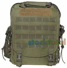 MOCHILA BOLSA shoulder backpack HOMBRO MOLLE 2 EN 1 VERDE 30x35x9 cm 30697B MF2