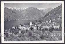 COMO CLAINO con OSTENO 02 CLAINO INTELVI - LAGO di LUGANO Cartolina viagg. 1953
