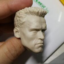 1/6 Resin Unpainted Figure Head Sculpt Arnold Schwarzenegger Devil Commander