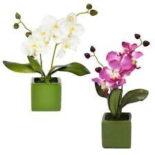 Orchid 100% Silk Arrangements, Centerpieces&Swags Flowers