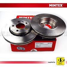 OPEL RENAULT TRAFIC VAUXHALL VIVARO  MINTEX FRONT BRAKE DISCS MDC1608 PAIR