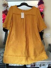 Monsoon Patternless Short Sleeve Casual Dresses for Women