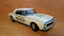 EXACT DETAIL REPLICA 1967 CHEVROLET CAMARO OFFICIAL PACE CAR 1/18