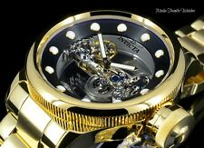 Invicta 52MM Russian Diver GHOST BRIDGE AUTOMATIC All Gold Tone Bracelet Watch