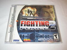 Fighting Force 2 (Sega Dreamcast) Original Release Game Complete Excellent!