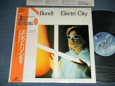 MICHAEL BUNDT Japan Reissue NM LP +Obi ELECTRIC CITY