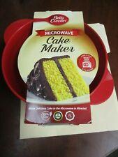 Betty Crocker Microwave Cake Maker