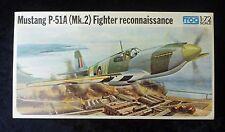 Frog Mustang P-51 De combat Modèle D'avion Kit 1/72 Echelle scellé