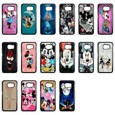 Disney Minnie Mouse Colourful Hard Case Cover for Samsung S6 S7 S8 S9 plus edge