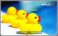 WALMART 2014 CANADA THREE BABY TO DUCKS FR/ENG #SC874 COLLECTIBLE GIFT CARD
