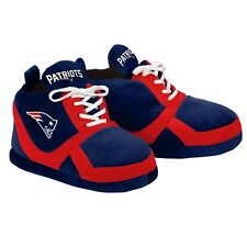 New England Patriots Colorblock Slippers - NEW - FREE USA SHIPPING 15