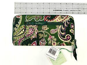 Vera Bradley TRAVEL ORGANIZER Chelsea Green NEW NWT $42