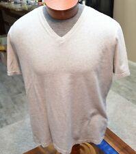 Men's Banana Republic Premium Wash Tee T Shirt V neck Large Soft! EUC