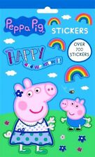 Peppa Pig Stickers Book 700 Sticky Picture Sheets George TV Character -WH3-SLFB