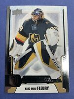 2019-20 Upper Deck Credntials Base #33 Marc Andre Fleury Vegas Golden Knights