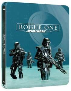 Rogue One: A Star Wars Story STEELBOOK 3D + Blu-Ray Import Region + Art Cards