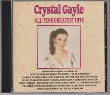 CRYSTAL GAYLE All Time Greatest Hits 1990 CD Talking in Your Sleep 70s Country