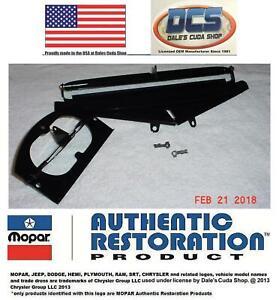 1970 1971 Cuda Challenger Shaker Hood Cold & Warm Air Door Kit New MoPar