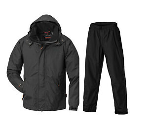 Pinewood Tornado Extreme Rain Suit 9862 Black