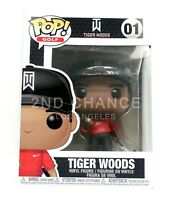 New Funko Pop Golf Tiger Woods #01 Vinyl Figure