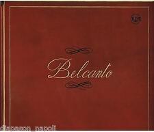Belcanto: Tebaldi, Caruso, Di Stefano, Precio, Bjorling, Pinza Box 5 LP Cuero