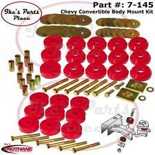 Prothane 7-145 Body Mount Bushing Kit 59-64 Chevy Impala/Belair Convertibles