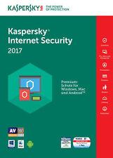 Kaspersky Internet Security 2017 (5 PC 2 Jahre) - Multi Device
