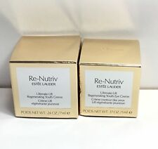Estee Lauder Re-Nutriv Ultimate Lift Regenerating Youth Eye Creme Face Creme Duo