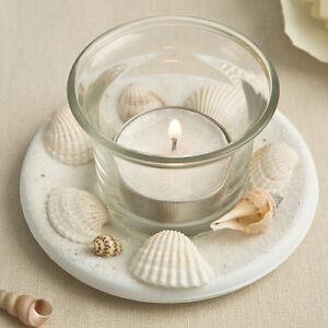 40 beach theme candle favors Natural seashell wedding favor Bridal Shower