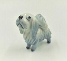 Hund Pekinese Groteske Porzellanfigur Metzler & Ortloff Walter Bosse Art Deco
