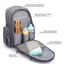 Hanging Bag Waterproof Outdoor Baby Diaper Changing Backpack Mummy Bag Stroller