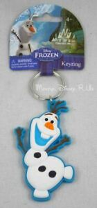 Disney Frozen OLAF Soft Touch PVC Rubber Charm Keychain Key Ring Chain