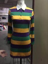 Mardi Gras Long Sleeve Dress