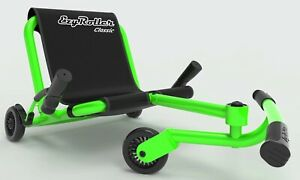 Ezy Roller Classic Kids 3 Wheel Ride On Ultimate Riding Machine Green
