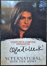 Supernatural Seasons 4-6 GC Genevieve Padalecki Auto Autograph Trading Card CW