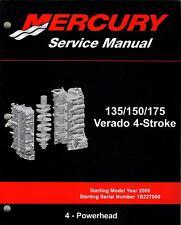 2006 MERCURY 135/150/175 VERADO 4-STROKE, # 4 POWERHEAD SERVICE MANUAL (141)