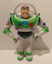 "Hasbro Disney Pixar 2001 Buzz Lightyear Toy Story Talking Posable 12"""
