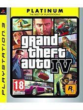 Grand Theft Auto IV GTA 4 Ps3 Perfetta Stampa Italiana Manuale & Mappa No import
