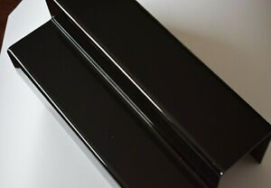Display shelves 2 step acrylic black New