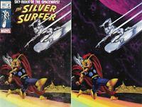Silver Surfer Black #1 Joe Jusko Exclusive Variant Classic/ Virgin Set VF/NM