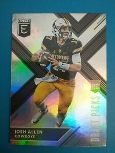2018 Panini Elite Draft Picks Josh Allen RC #103 BILLS MINT FREE SHIPPING!!