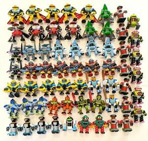 CHOOSE: Vintage 1992 Z-Bots Figures * Galoob * Flymitrons Robochamps Utilitoids