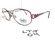 New LUXOTTICA Eyeglass Frame LU2242-T346 Purple Womens (LTJ-04)