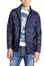 Gas Jeans men's concealed hood 2in1 light jacket size S*