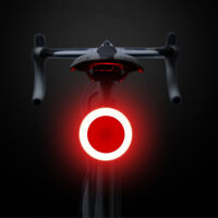 USB Rechargeable Bike Rear Light Tail Lamp LED Bicycle Warning Safety Waterproof